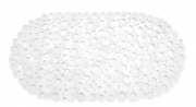 13418 - TAPETE PARA BOX PVC BOLHAS BCO 36CMX69CM