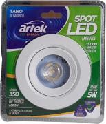 14698 - SPOT LED REDONDO 5W 100-240V 6500K