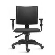 Cadeira Escritório Ergonômica Executiva Braços Reguláveis