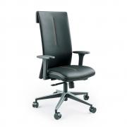 Cadeira Escritório Giratória Presidente Cavaletti Leef
