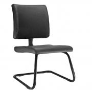 Cadeira Fixa de Escritório Estofada Courvim