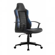 Cadeira Gamer Giratória Inclinação do Encosto Relax Revestimento em Tecido