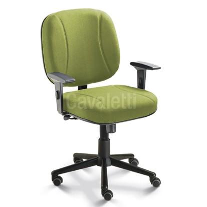 Cadeira Escritório Diretor Reforçada Suporta 140kg Cavaletti Start Extra