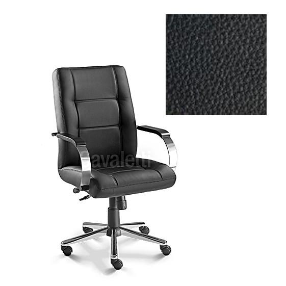 Cadeira Escritório Diretor Reforçada Suporta 140kg Cavaletti Prime