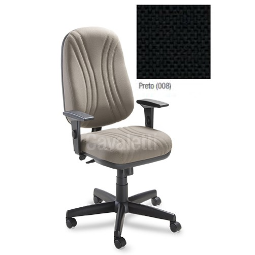 Cadeira Escritório Ergonômica Presidente Cavaletti Start Plus