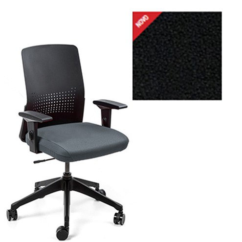 Cadeira Escritório Giratória Diretor Preto Cavaletti Moov