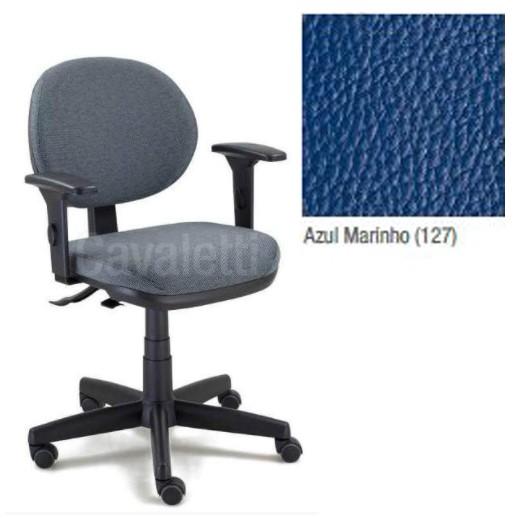 Cadeira Escritório Giratória Executiva com Regulagem dos Braços