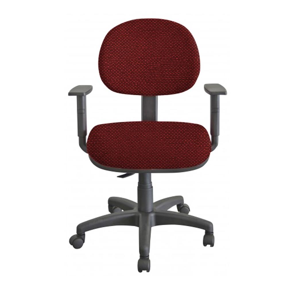 Cadeira Escritório Giratória Executiva Ergonômica Revestimento em Tecido