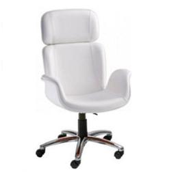 Cadeira Escritório Giratória Presidente Braços  Estofados