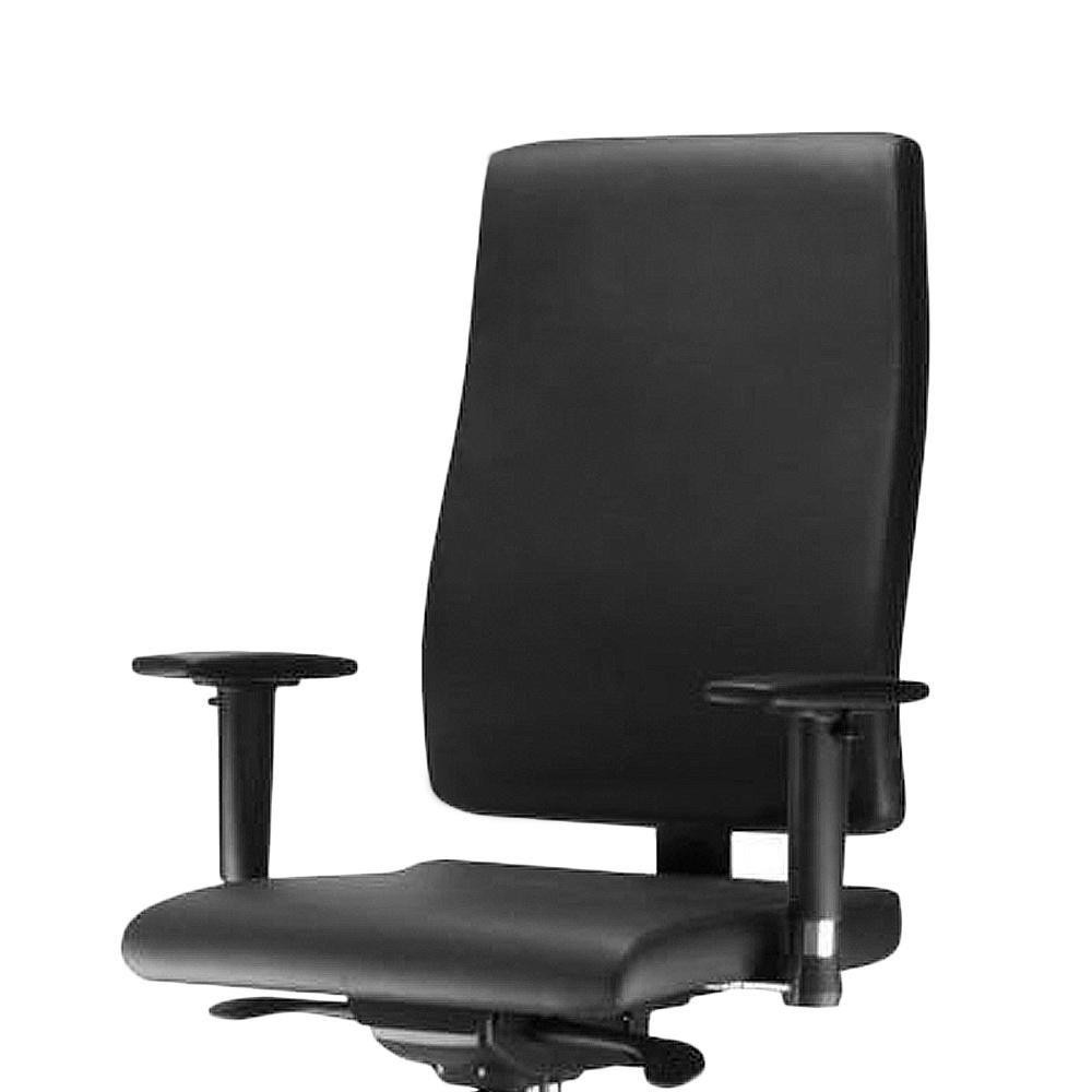 Cadeira Escritório Giratória Presidente Braços Reguláveis