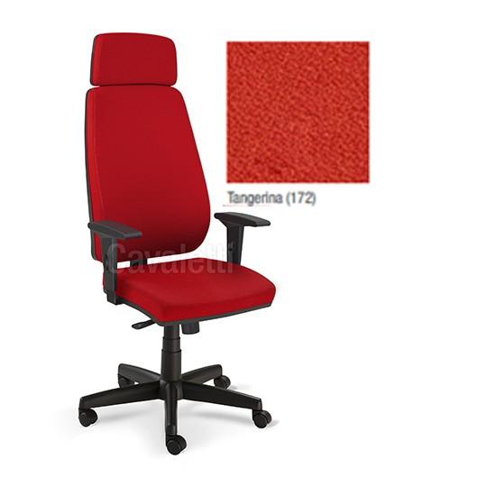 Cadeira Escritório Giratória Presidente com Encosto de Cabeça Cavaletti PRO