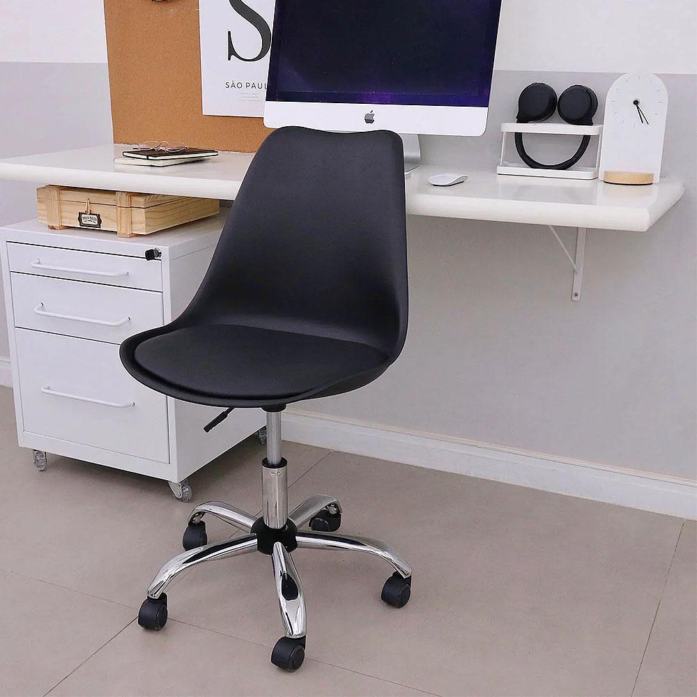Cadeira Secretária Office Escritório Base Giratória