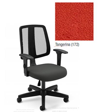 Cadeira Escritório Tela Mesh Executiva Preta Flip Light Cavaletti