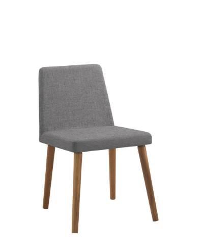 Cadeira Moderna Colorida Pés de Madeira VARF54