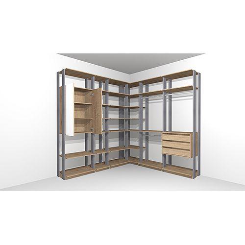 Closet com 1 Armário e 1 Gaveta
