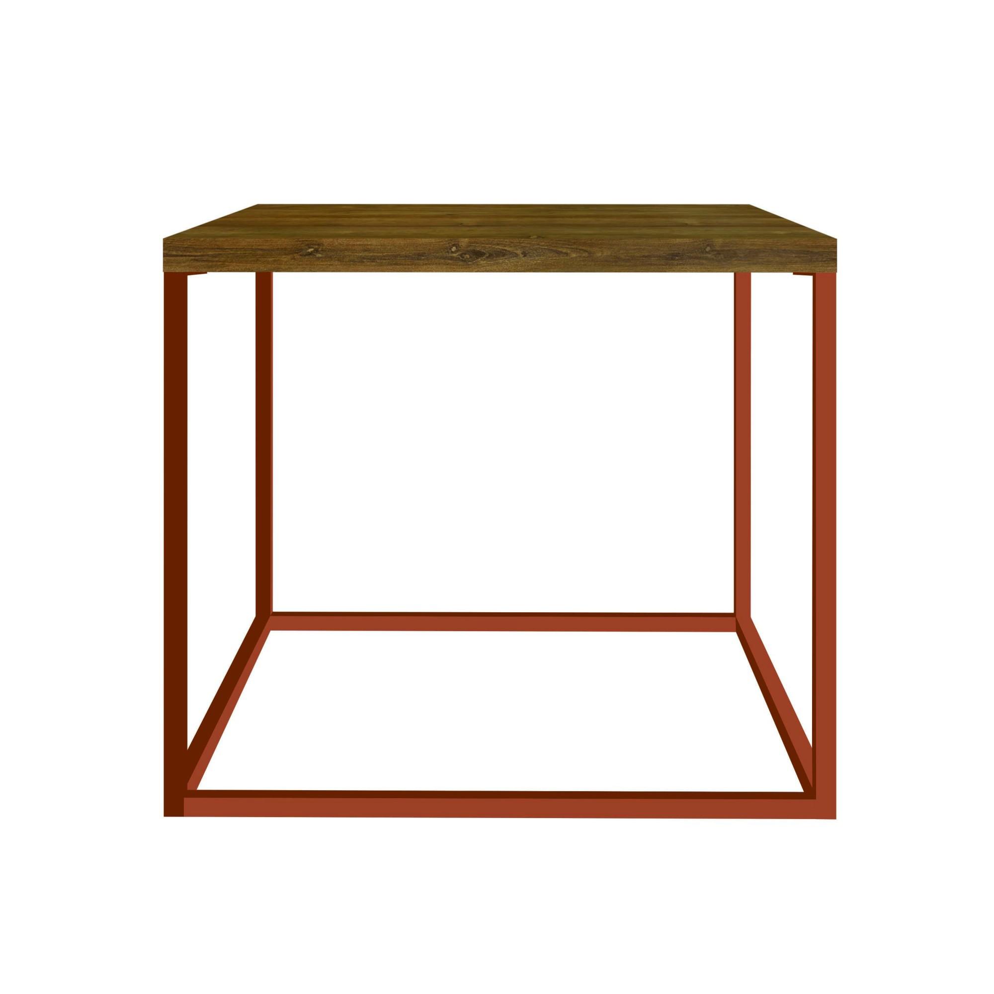 Mesa Cube Lateral Baixa 430mm