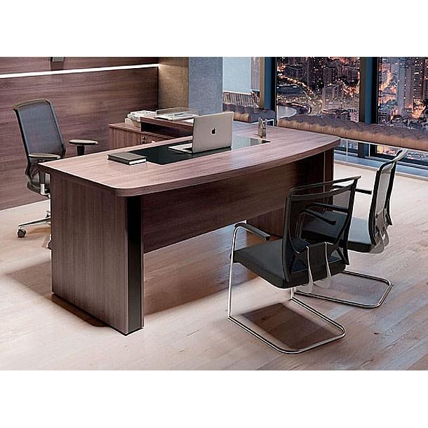 Mesa de Escritório Curva Gold 1800x800