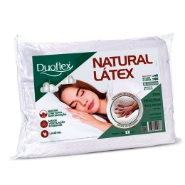 Travesseiro Duoflex Natural Látex 50x70x14
