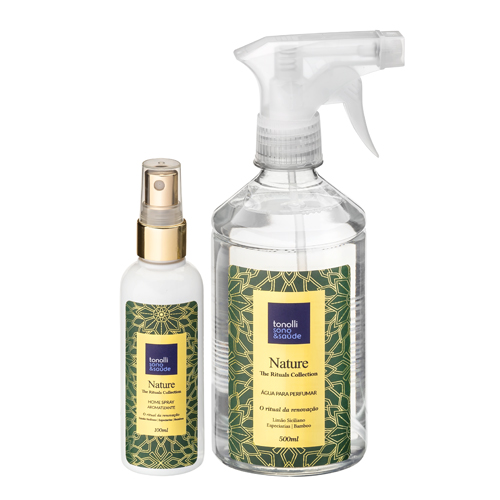 Combo Água de Passar + Home Spray Nature