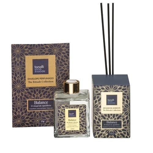 Combo Difusor de Ambiente + Sachê Perfumado Balance