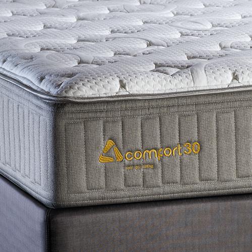 Conjunto Colchão de Mola Trinomio Comfort 30 + Sommier 34 de Altura