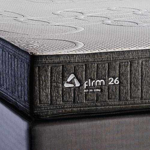 Conjunto Colchão de Mola Trinomio Firm 26 + Sommier 34 de Altura