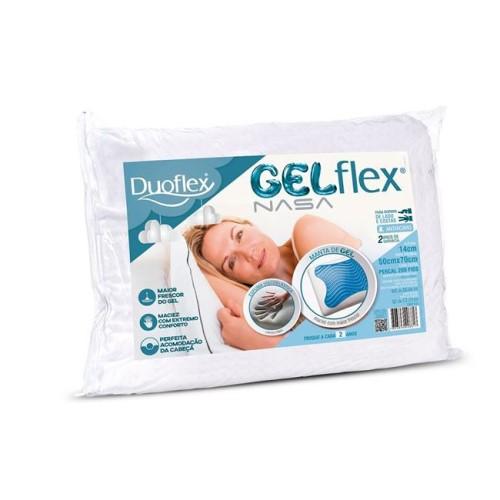 Travesseiro Duoflex em GelFlex 50x70x14