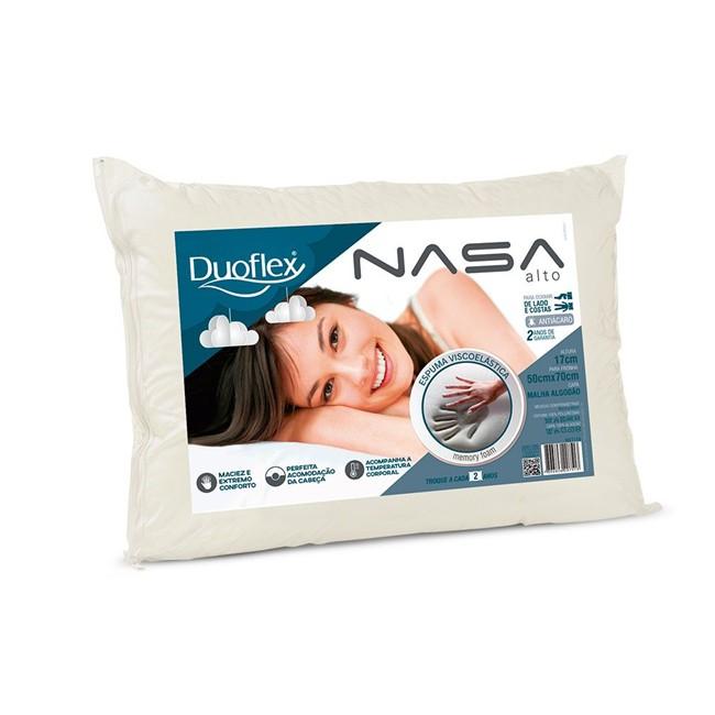 Travesseiro Duoflex Nasa Alto 50x70x17