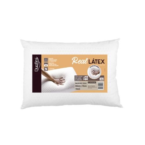 Travesseiro Real Latex Alto 50x70x16 LS1109 ENR