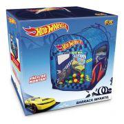 Barraca Infantil com 50 Bolinhas Hot Wheels Azul