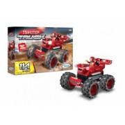 Blocos de Encaixe Monster Truck Vermelho
