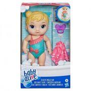 Boneca Baby Alive Hora do Banho - Banhos Carinhosos - Loira