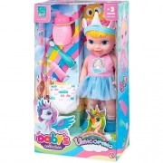 Boneca Babys Collection Unicornio - Super Toys