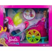 Boneca Barbie Dreamtopia com Carruagem