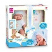 Boneca Bebê 35 Cm Meu Bebezinho De Verdade - Blue