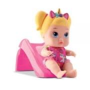 Boneca Coleção Little Dolls Playground Escorregador