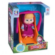 Boneca com Bebê Conforto Masha - Cotiplás