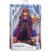 Boneca com Luzes e Sons - 35 Cm - Disney - Frozen 2 - Anna