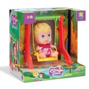 Boneca Little Dolls Playground Balancinho