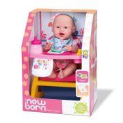 Boneca New Born Primeira Papinha