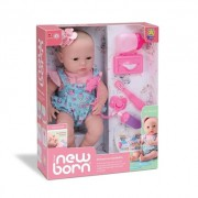 Boneca New Born Primeiros Cuidados - Divertoys