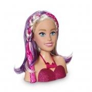 Busto De Boneca Com Acessórios - Barbie Styling Head Face