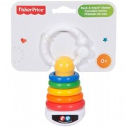Chocalho Mini Pirâmide de Argolas - Fisher-Price