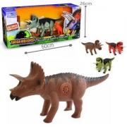 Dinossauro Triceratopo c/som todo Vinil