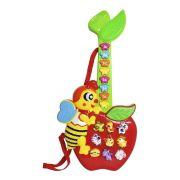 Guitarra Infantil Com Piano E Teclado Abelha Animais