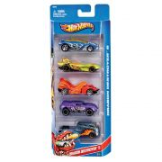 Hot Wheels - Carros Básicos com 5