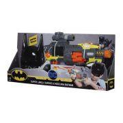 Lançador de Dardos Batman - Super Lançador e Máscara
