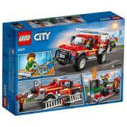 Lego Caminhao Do Chefe Dos Bombeiros