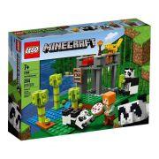 LEGO Minecraft - A Creche dos Pandas