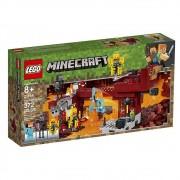 Lego Minecraft - A Ponte Flamejante - 372 Peças